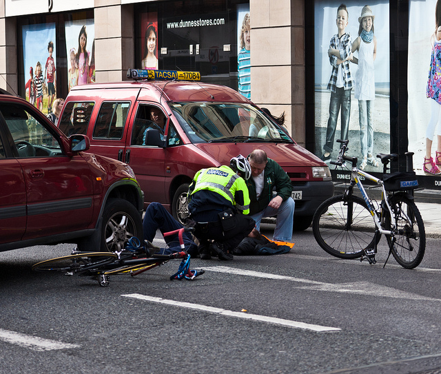 Stock image depicting an action related to Pedestrian/Bicycle Crash Investigation - Level I (Online)