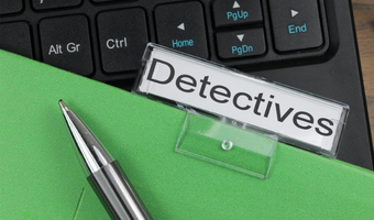 Stock image depicting an action related to Managing the Detective Unit (Online)