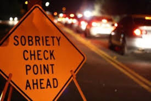 Stock image depicting an action related to Sobriety Checkpoint Operations (Online)
