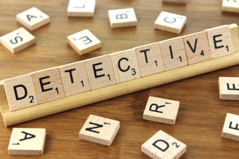 Stock image depicting an action related to The New Detective (Online)