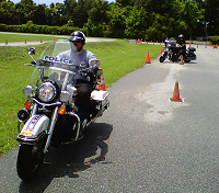 Police Motorcycle Training by IPTM