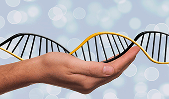 Stock image depicting an action related to Touch DNA for Law Enforcement (Online)