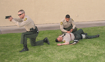 Stock image depicting an action related to Tactical Medical for Patrol Officers (Online)