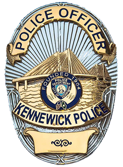 Kennewick Police Department Badge