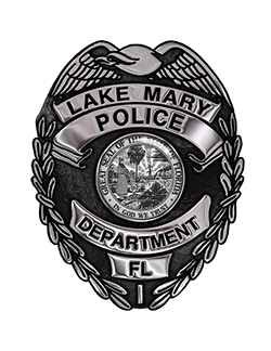 Lake Mary Police Department Badge