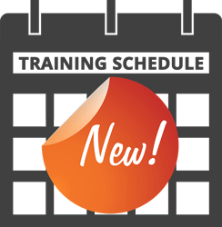 Image indicating there are training schedule updates